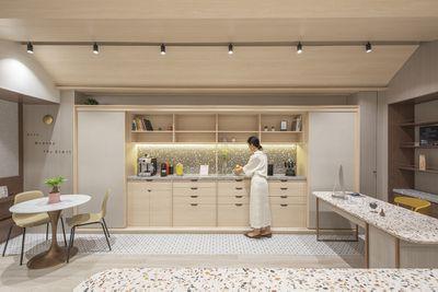 Sim-Plex Afflatus multipurpose studio office space by Sim-Plex Design Studio interior
