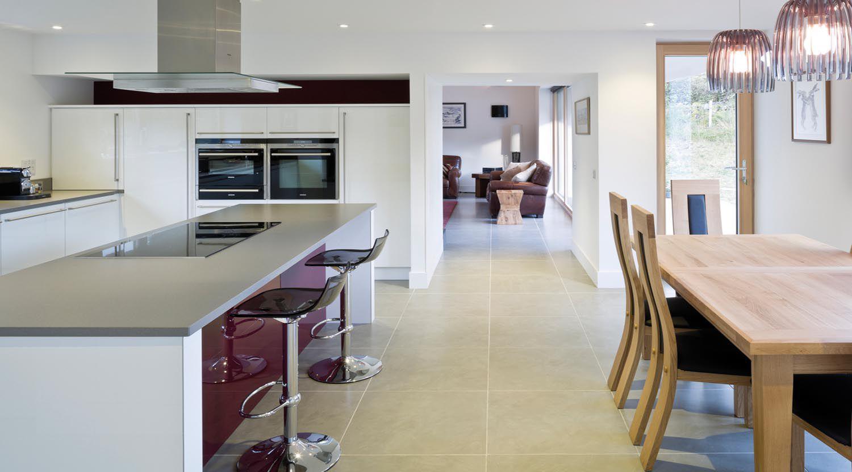 kitchen scottish passivhaus