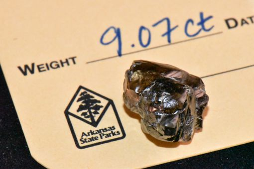 9.07-carat diamond