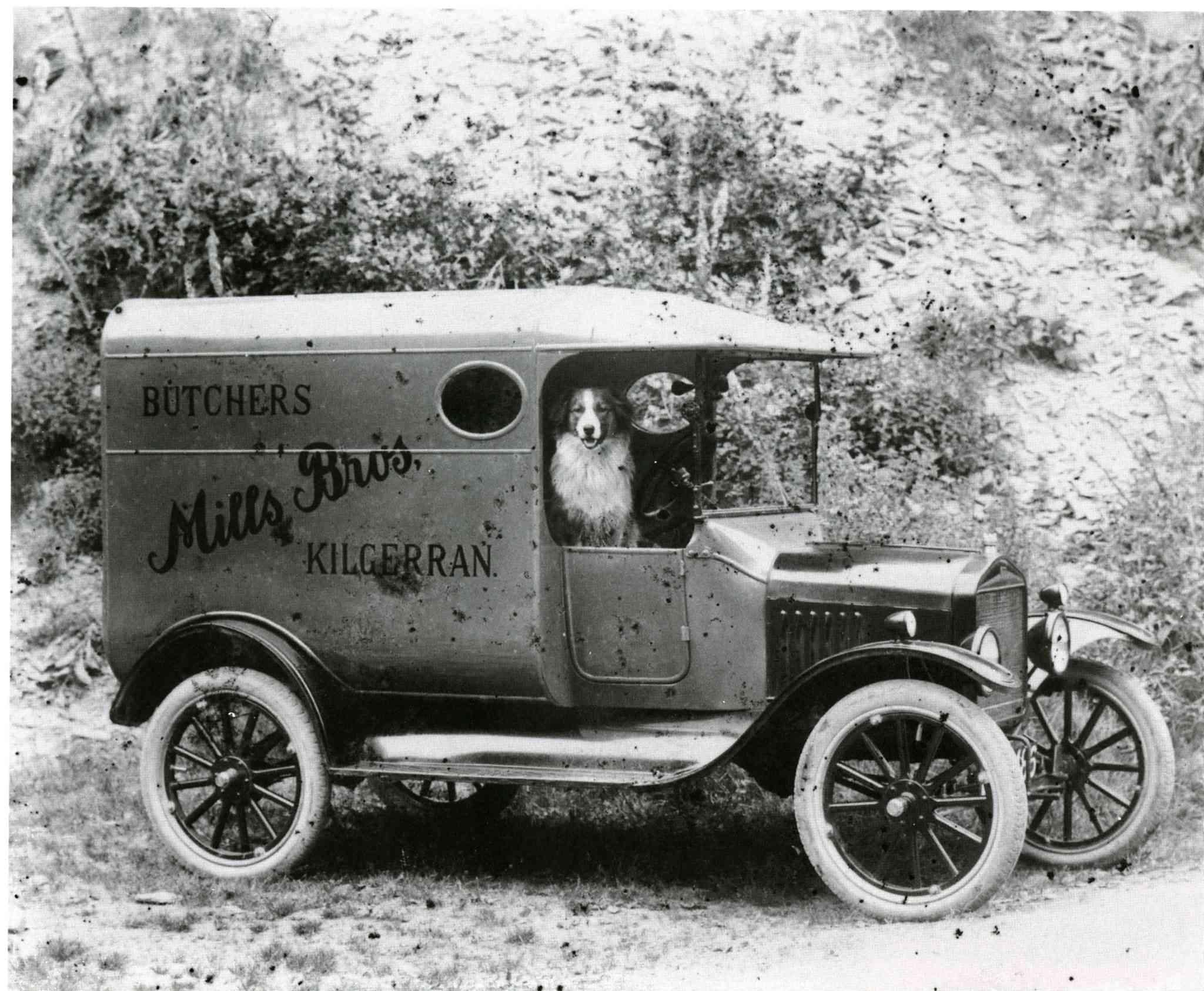 butcher's van, 1910