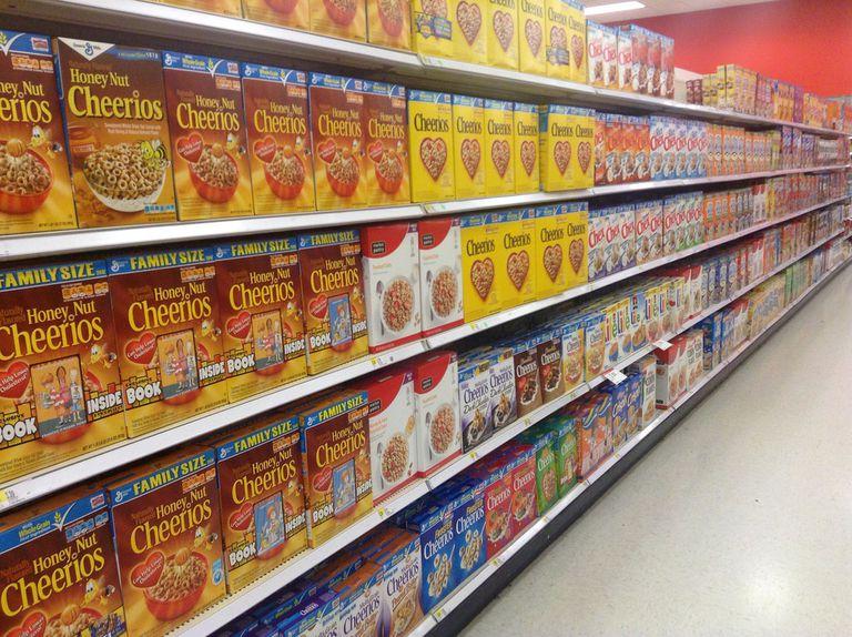 Consejo de reciclaje de cocina: Revestimientos para cajas de cereales