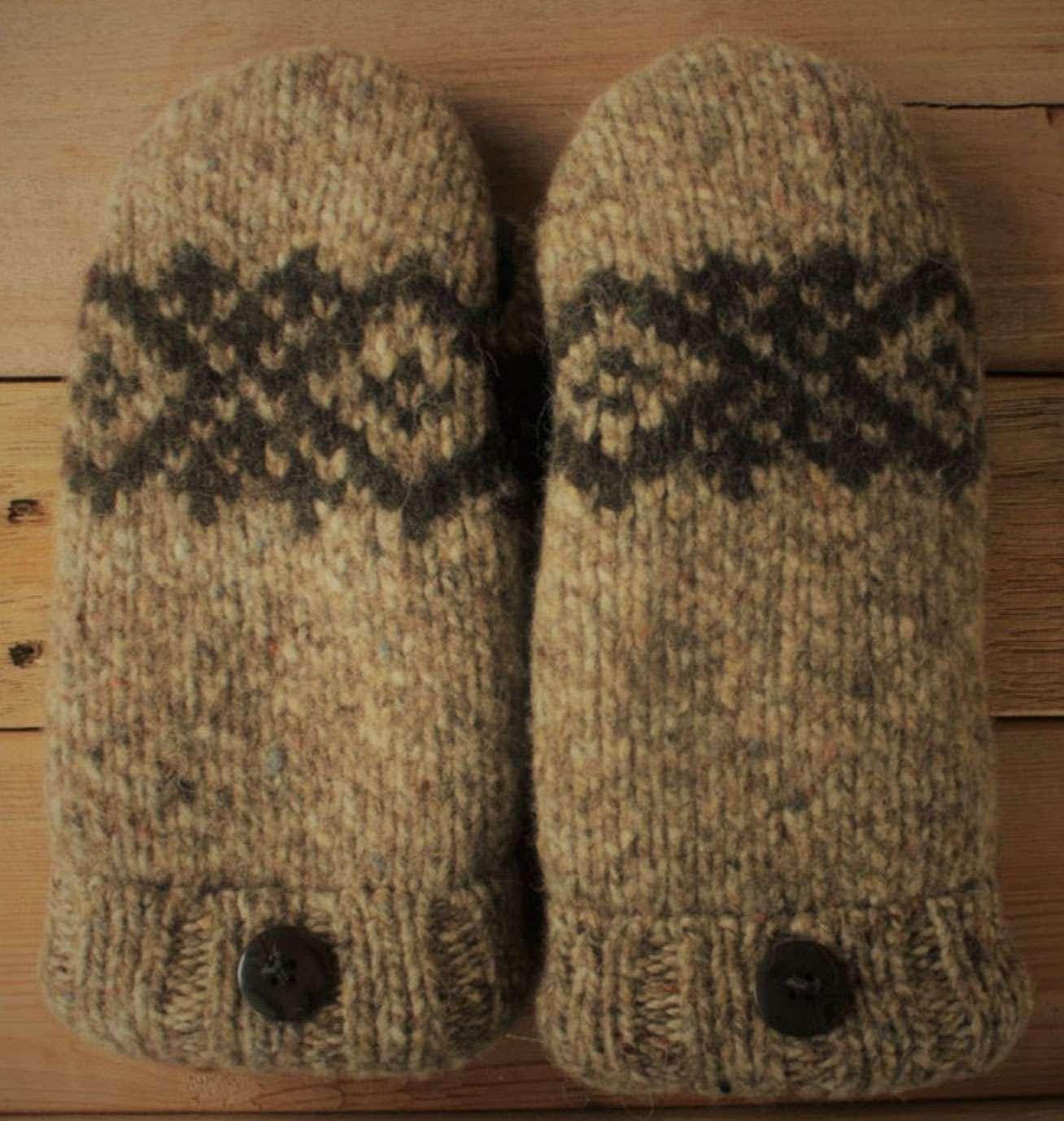 Upcycled Mittens by Mitten Heaven