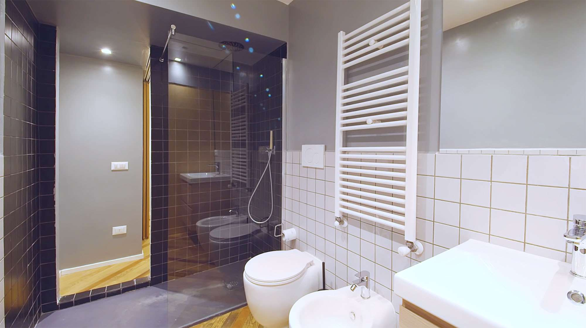 House In Constant Transition small apartment renovation ATOMAA bathroom