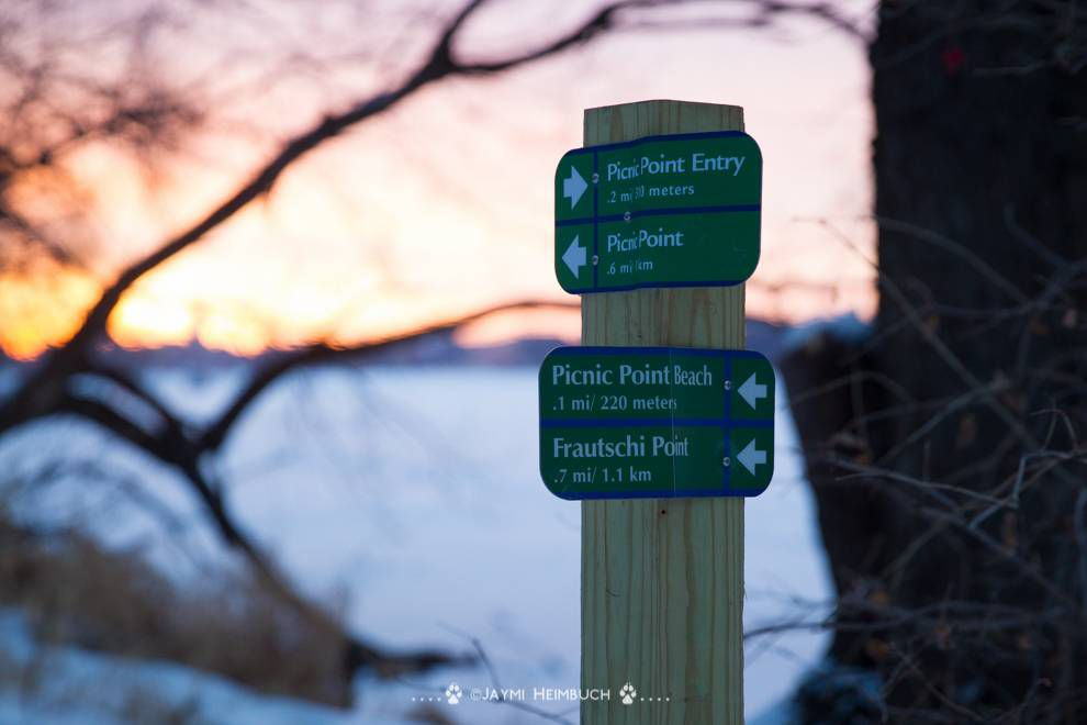 picnic point sign