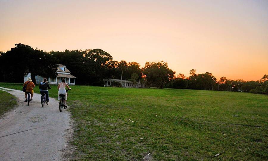 Cumberland Island: Renting bicycles