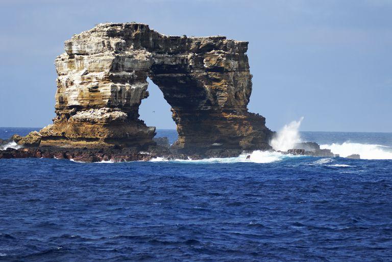 Darwin's Arch, Darwin Island, Galapagos