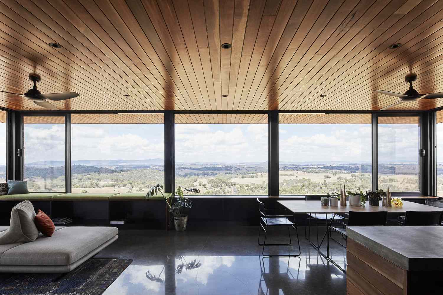 Elemental House by Ben Callery Architects living room