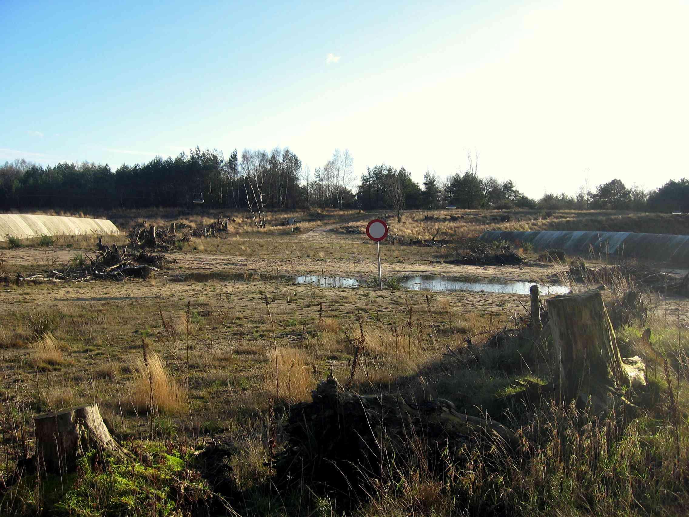 Wildlife overpass in Leusderheide, Netherlands