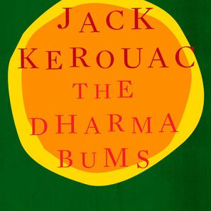 The cover for 'The Dharma Bums' by Jack Kerouac