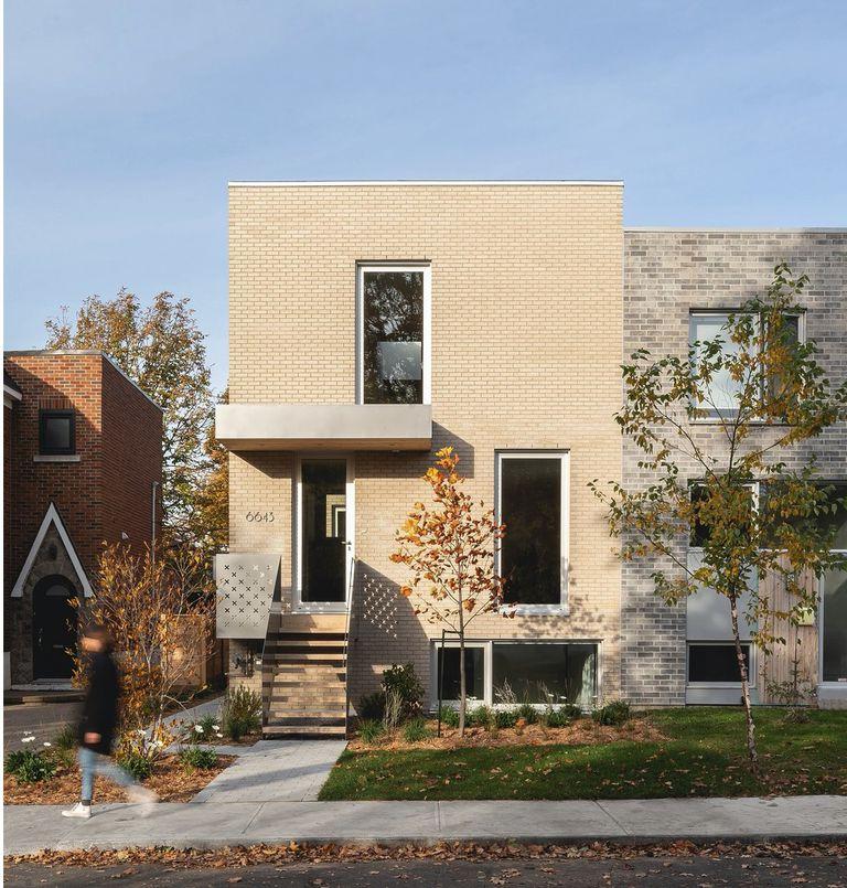 Montreal Duplex es simple y elegante