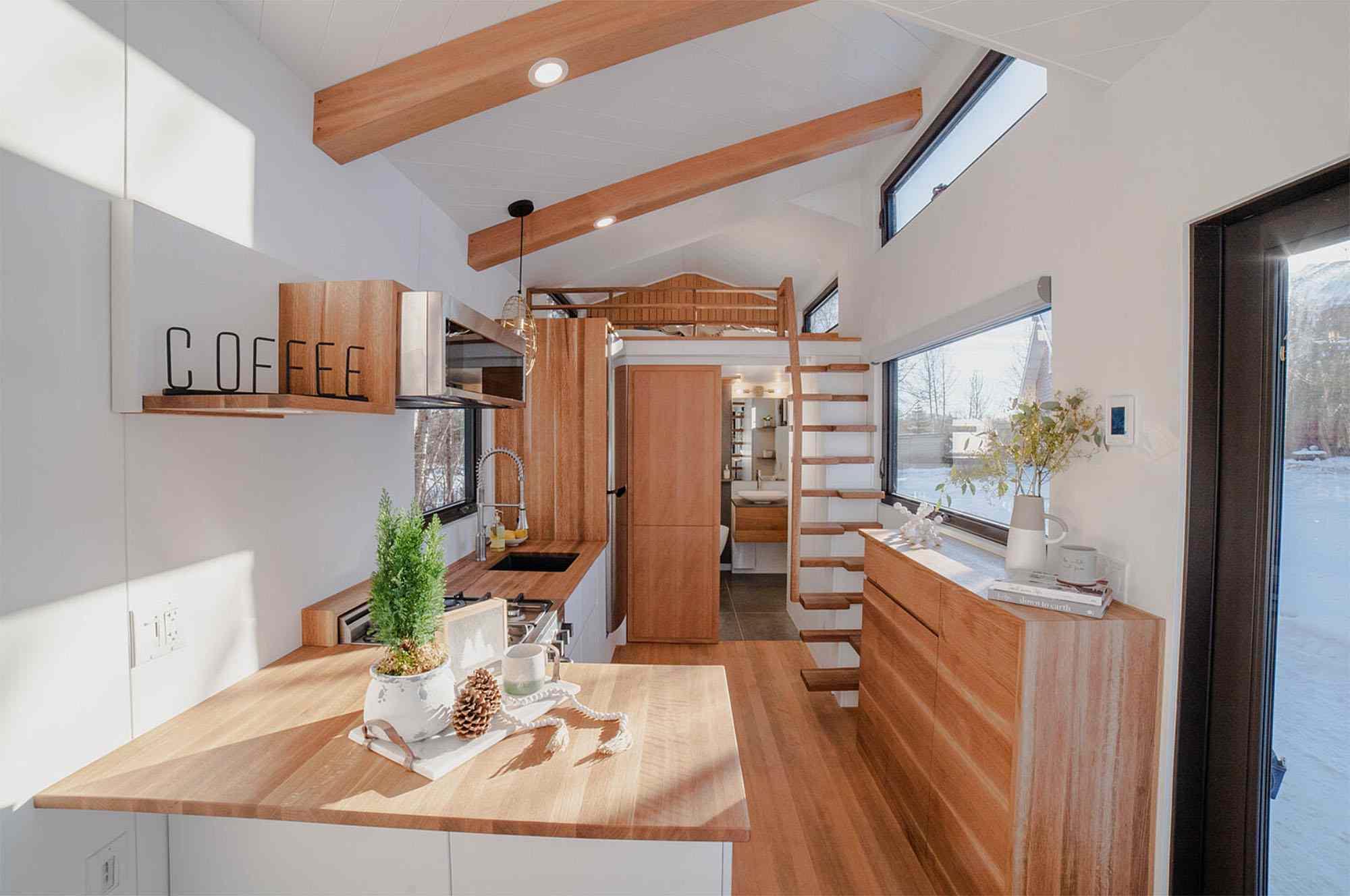 Fritz Tiny Homes interior