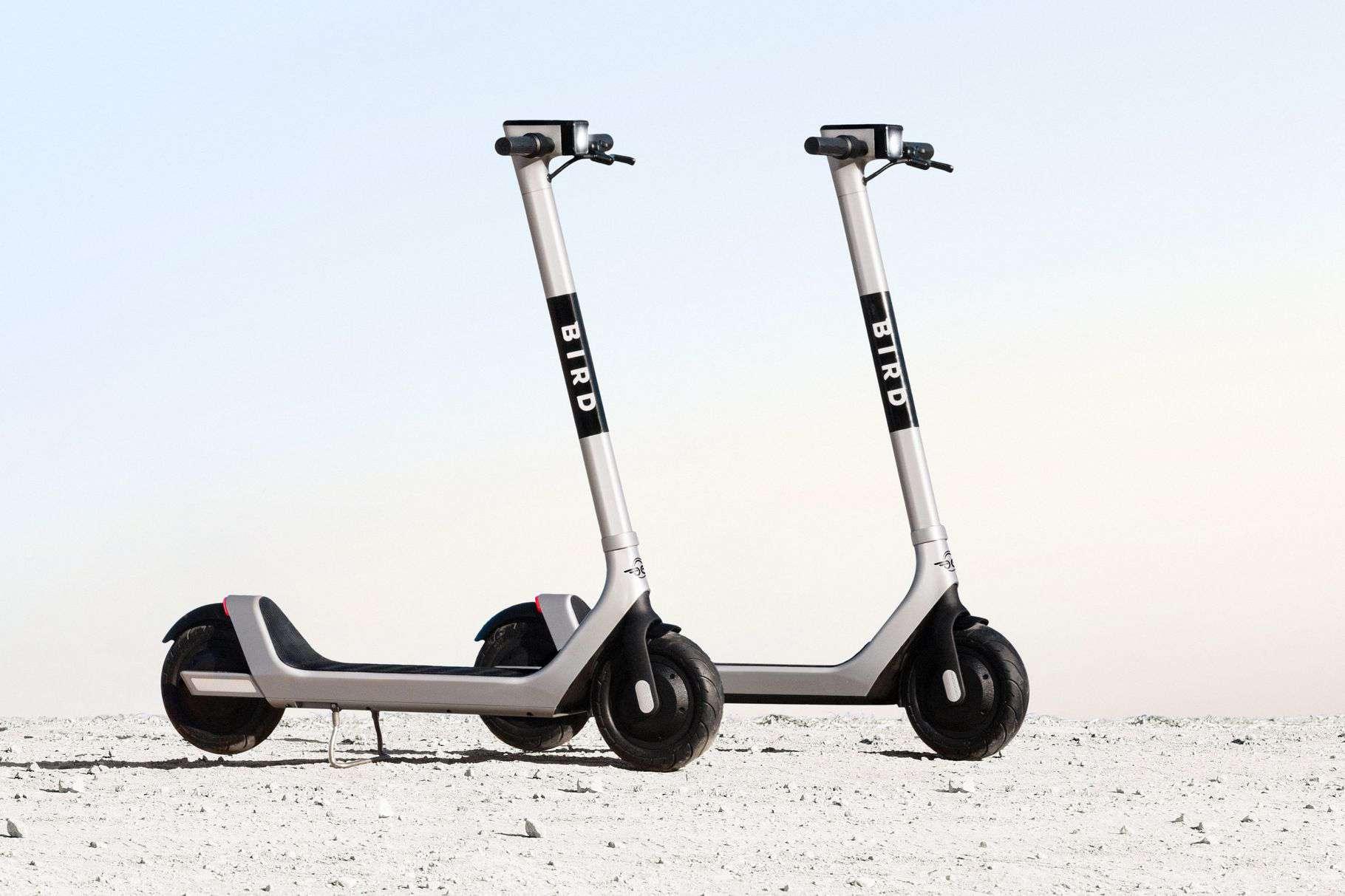 Bird 2 scooters