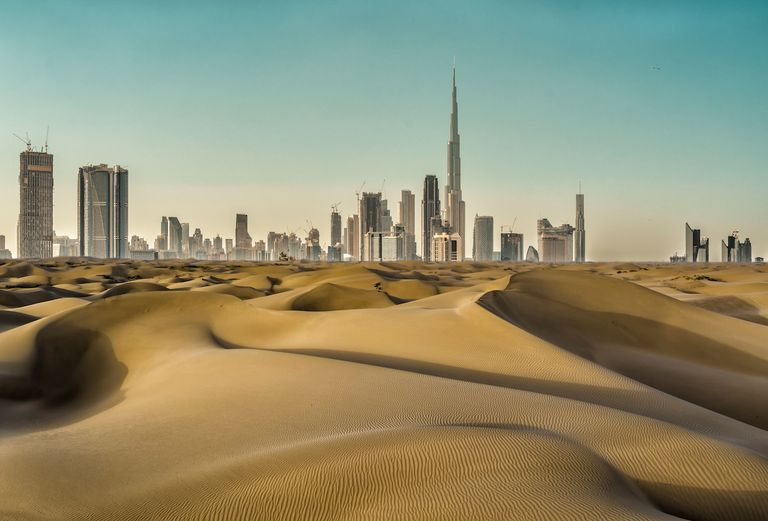 Dubai's Answer to Real Heat Is … Fake Rain?