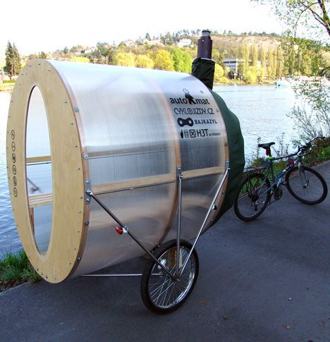 sauna on wheels