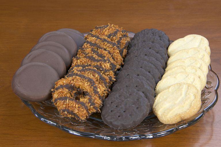 Versiones caseras de las galletas Girl Scout