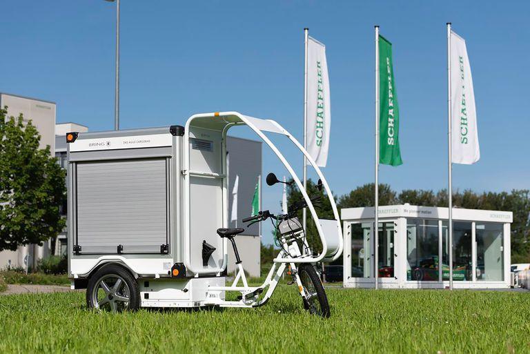 Bayk cargo e-bike with Schaaeffler drive
