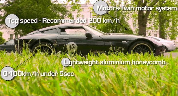 Lightning GT electric car photo