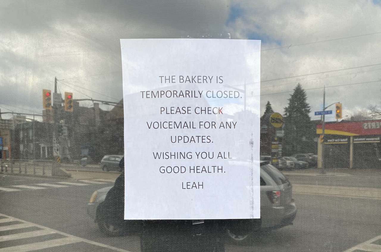 Leah's is closed