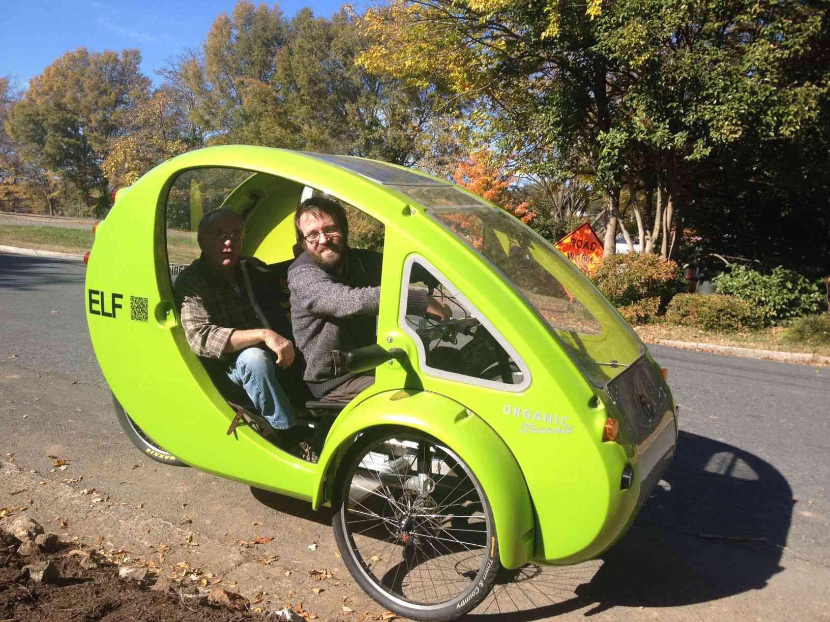ELF test ride photo