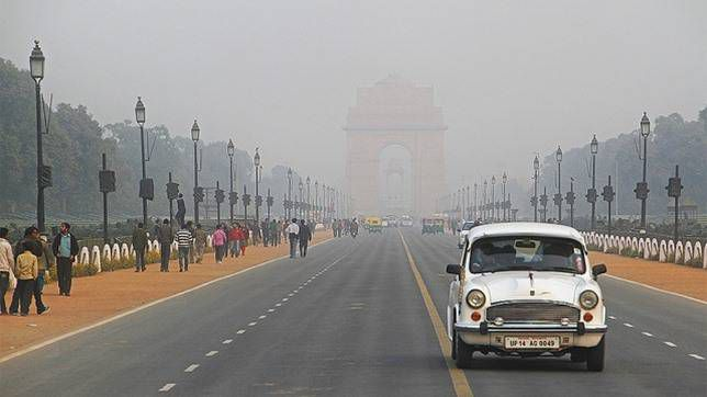 The smog in New Delhi is sometimes called