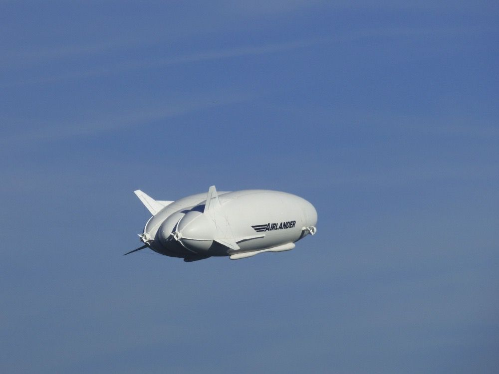 Airlander in air