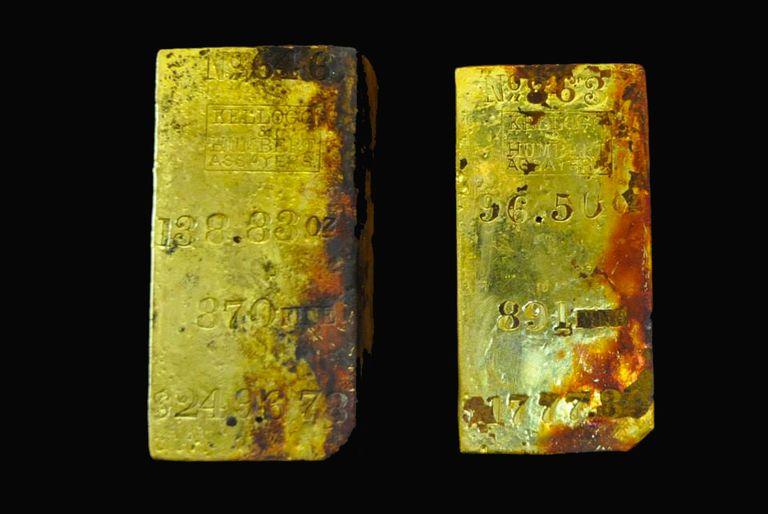 Millones en oro del naufragio de 1857 a la venta