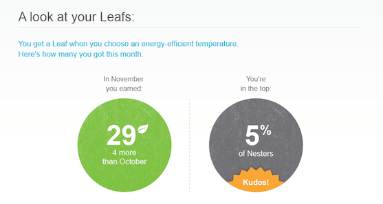 energy report nest leafs image