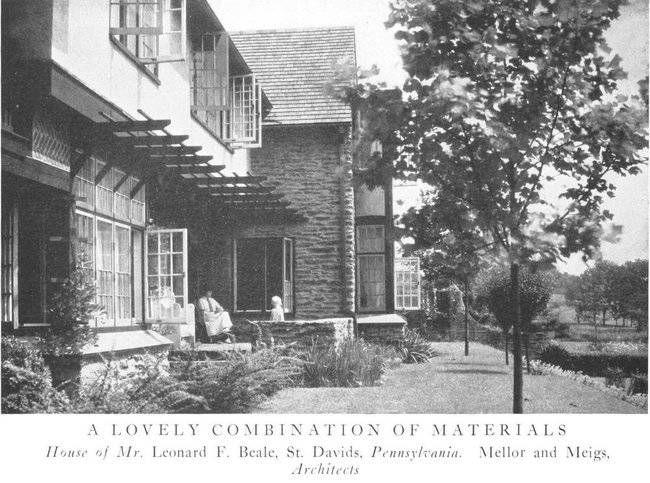 beale house in Pennsylvania