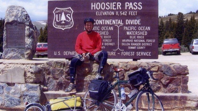 Michael at the Hoosier Pass