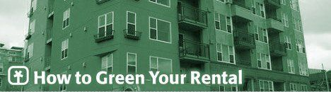 How to Green Your Rental Apartment Condo Townhome Home photo