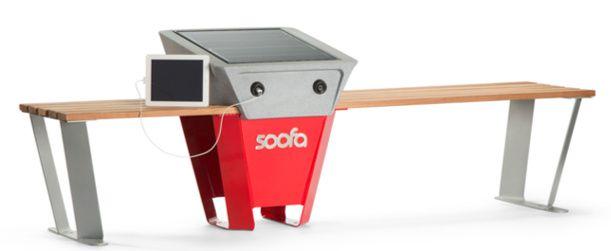 A solar-powered