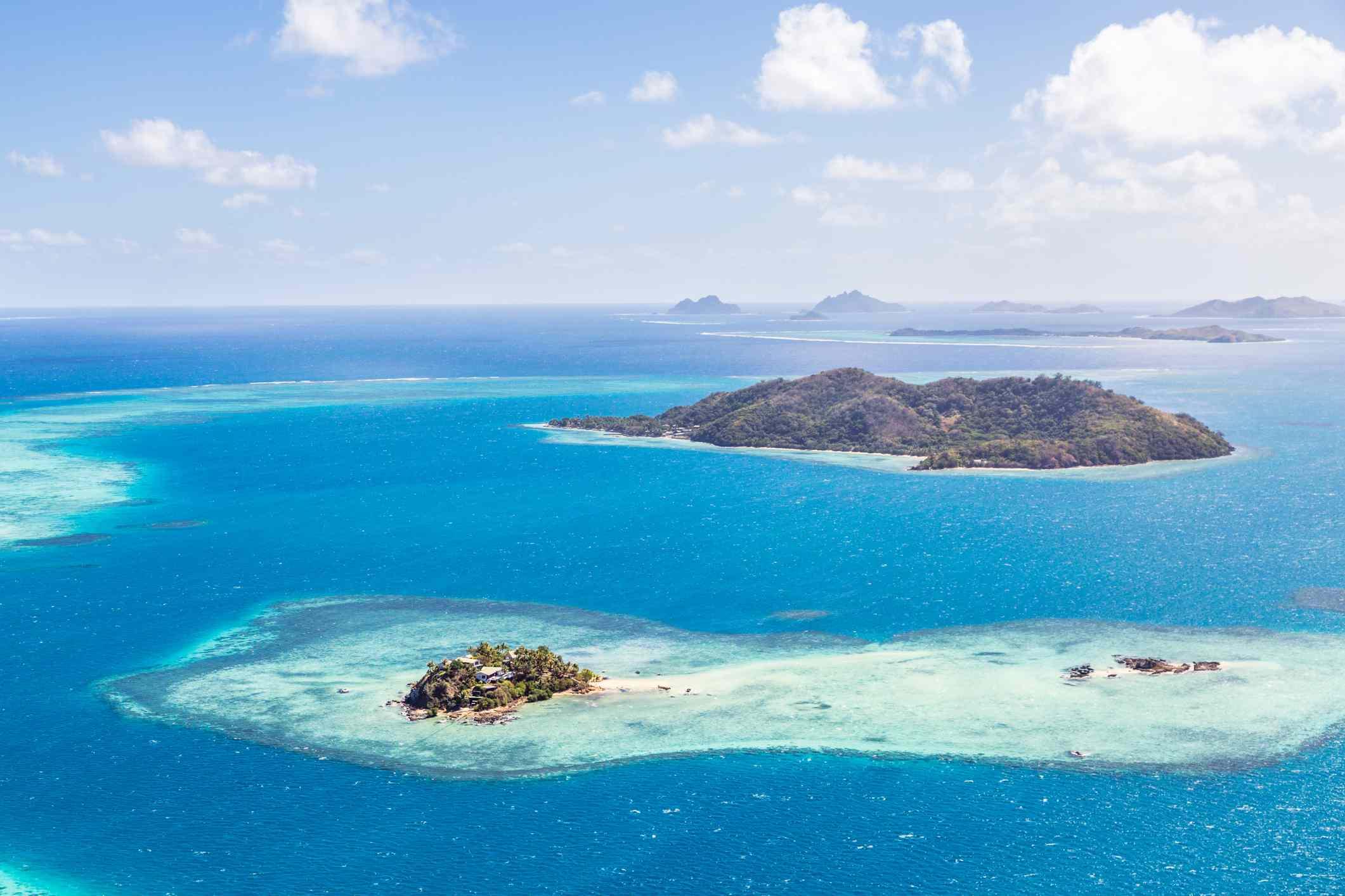 Fiji in the Pacific Ocean