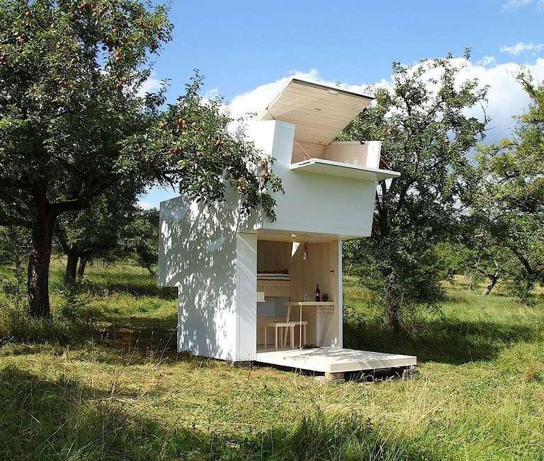 Una caja de alma en Arcadia, también conocida como una pequeña casa en Alemania
