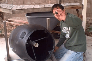 Compost Tumbler Assembly photo