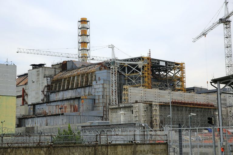 Reactor No. 4 of Chernobyl nuclear power plant