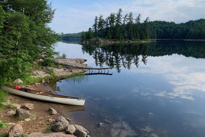 view of an Ontario lake