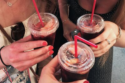 plastic drink cups