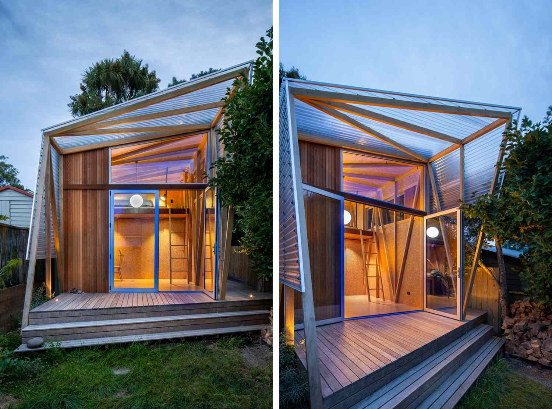 Herald Garden Studio Parsonson Architects exterior