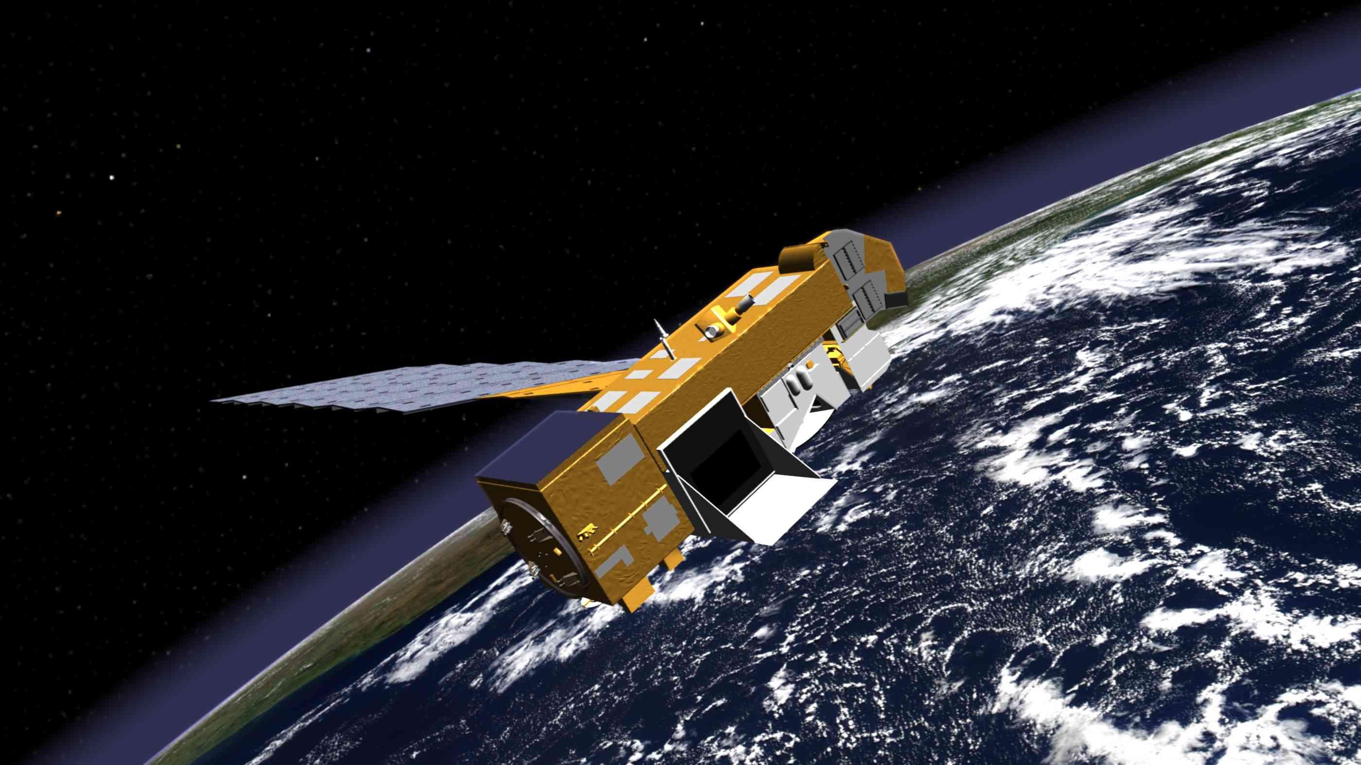 Aura satellite, NASA