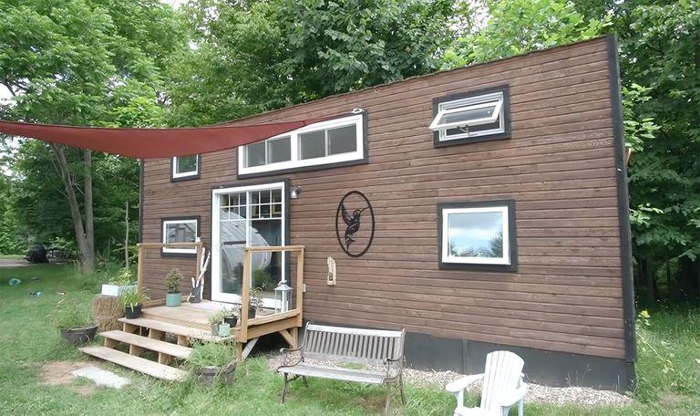 Giving Tree Family tiny house exterior
