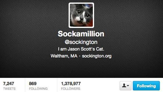 Sockamillion Twitter Account