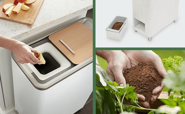 El reciclador de alimentos para interiores de alta tecnología ha aumentado más de 6 veces su objetivo en Indiegogo