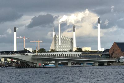 Amager Bakke from a distance