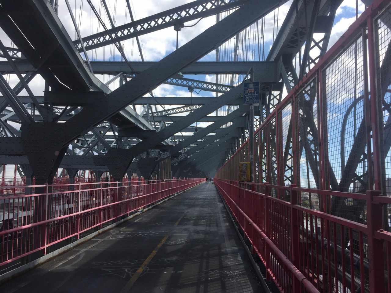walking the Williamsburg Bridge
