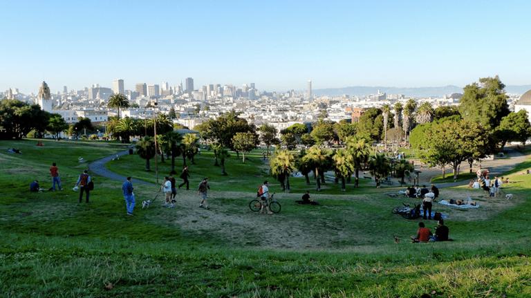Ahora puedes hacer pis al aire libre en uno de los parques más populares de San Francisco