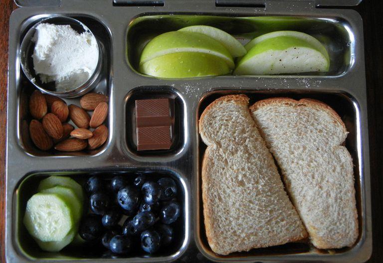 Cómo preparar un almuerzo escolar sin basura