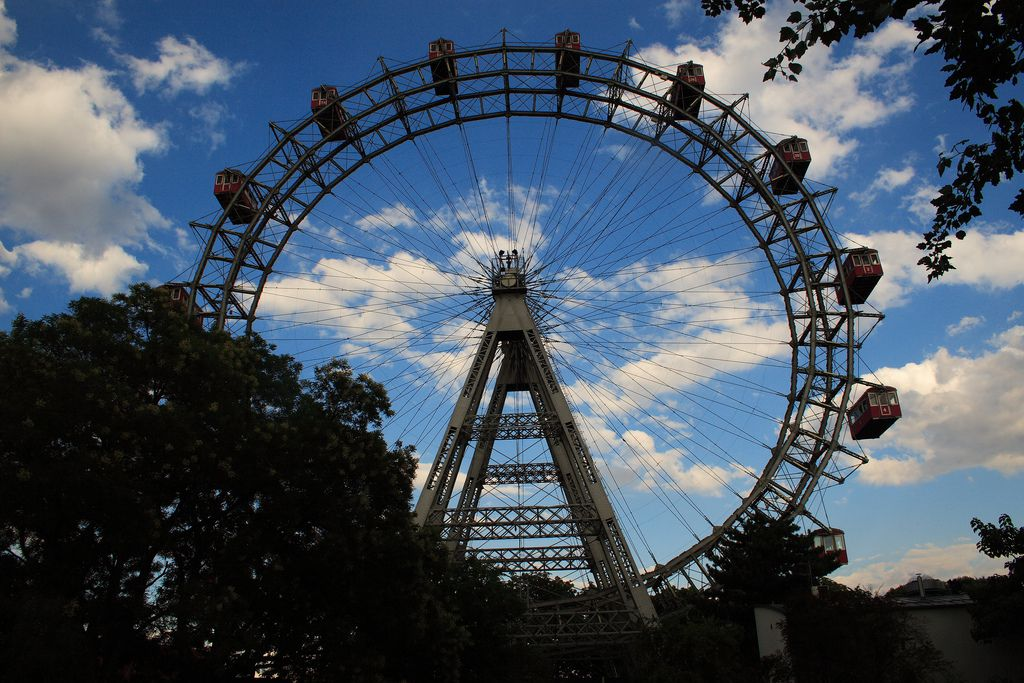 Riesenrad Ferris Wheel at the Prater, Vienna