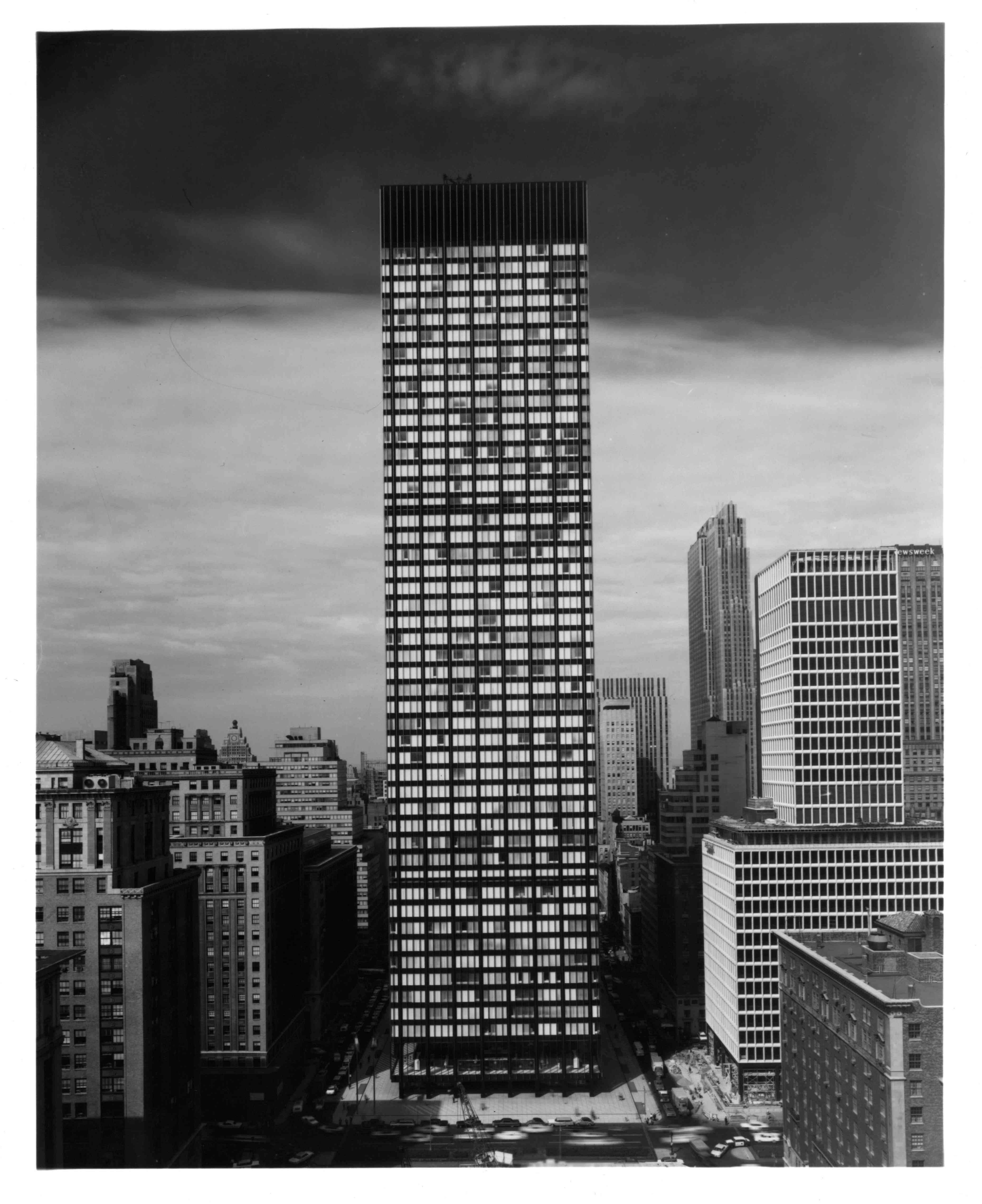 Union Carbide Building On Park Avenue In New York City