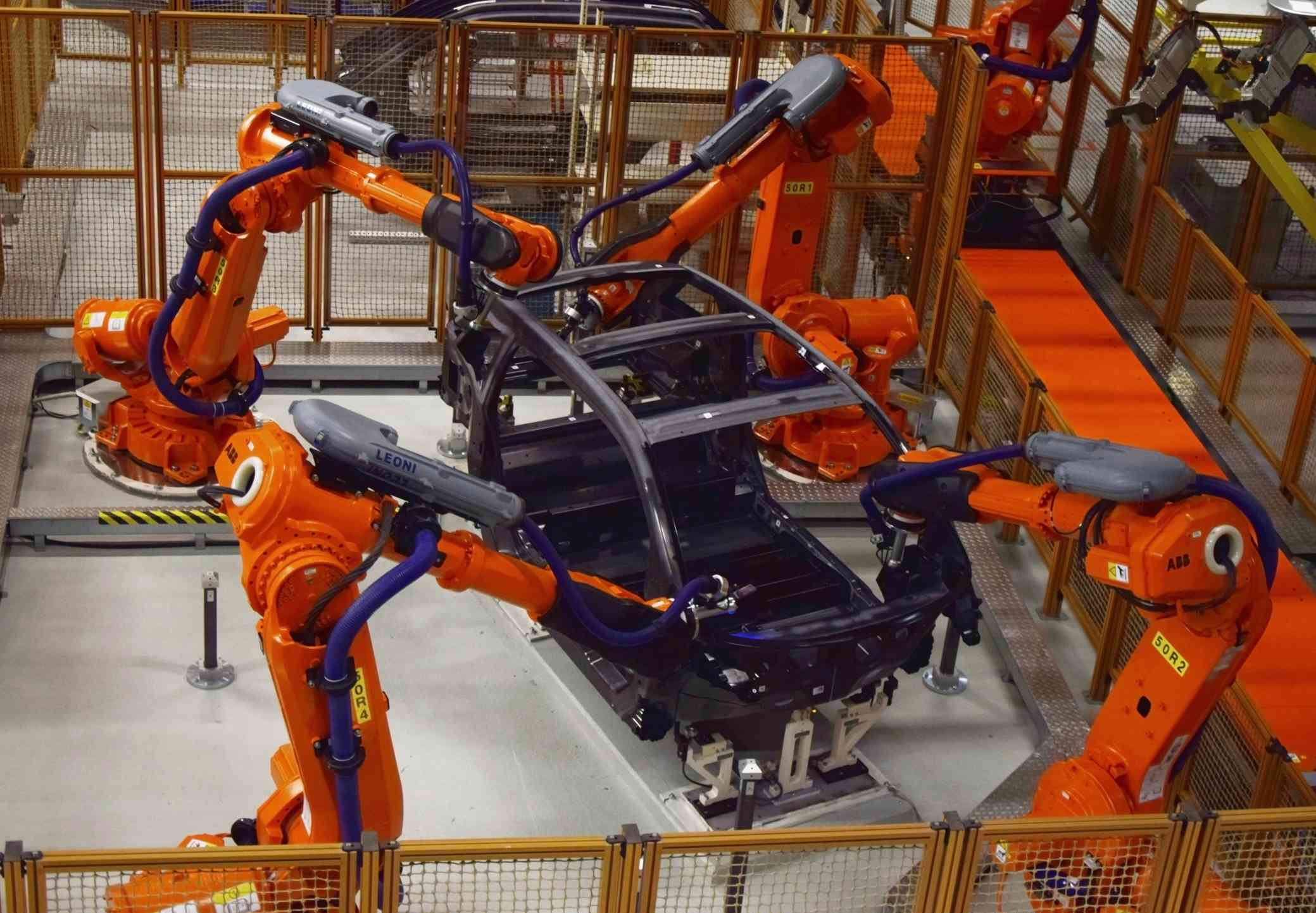 Production of the electric BMW i3
