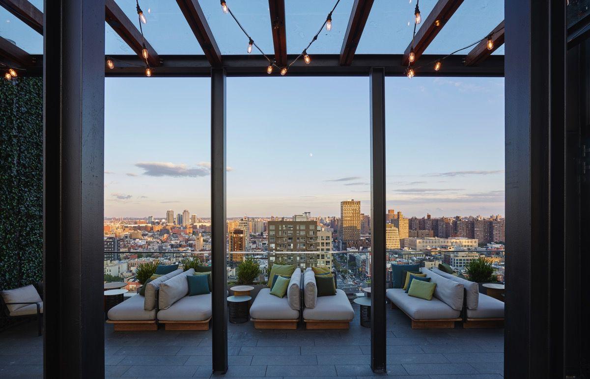 Citizen M rooftop